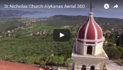St Nicholas Church Aerial 360